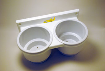 marine cup holders double cup
