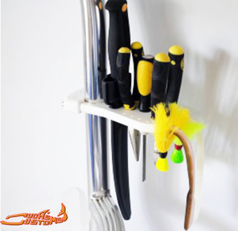 Universal clamp o fishing gear holder